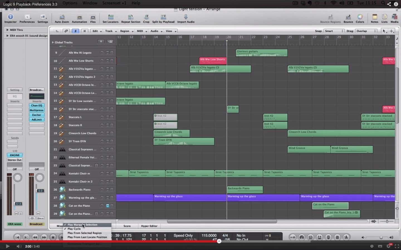 Logic 9 Playback Preferences 3