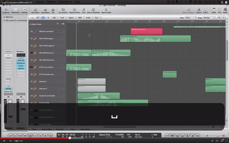Logic 9 Playback Preferences 2