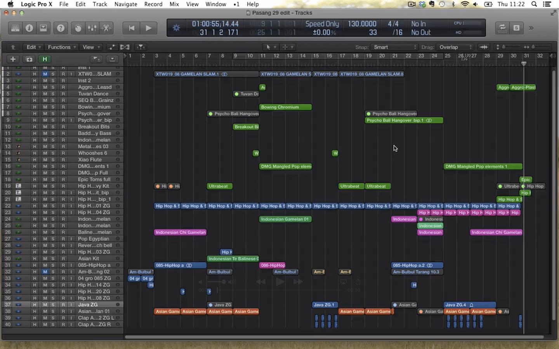 Shorter Edits in Logic X