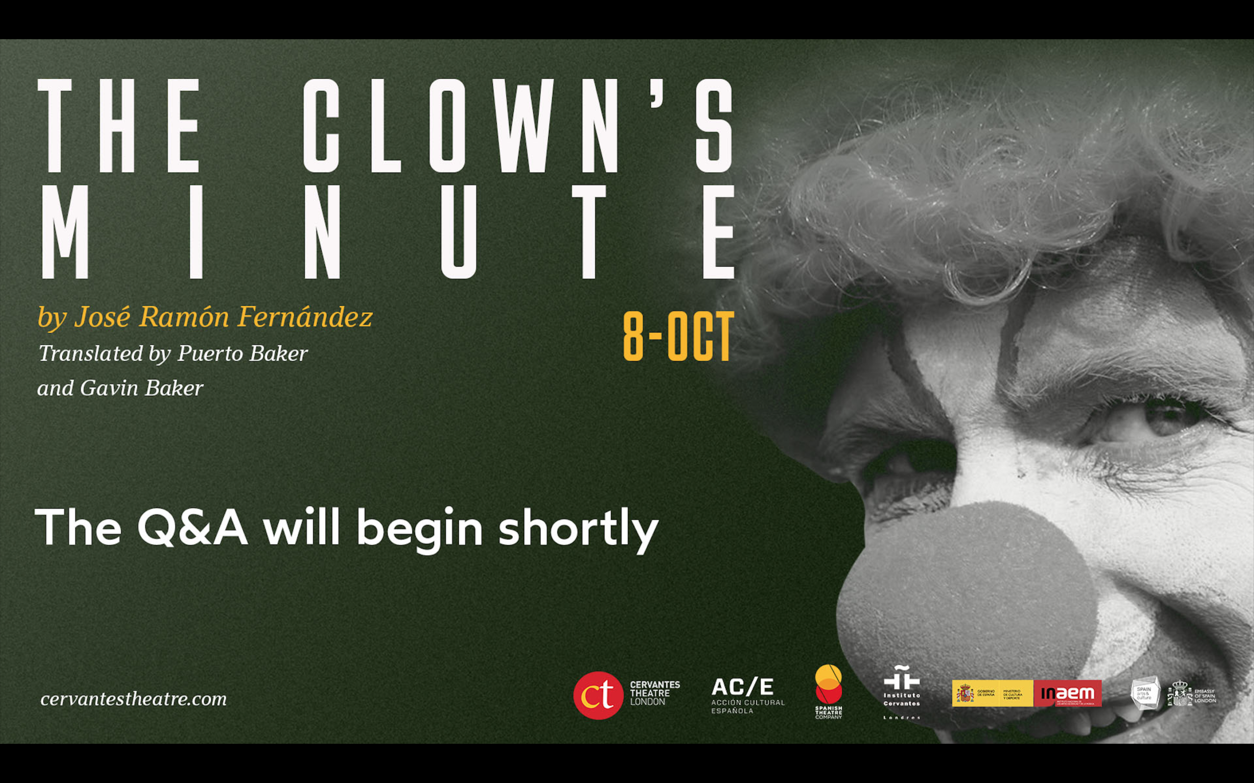 The Clown´s Minute Dramatised Reading